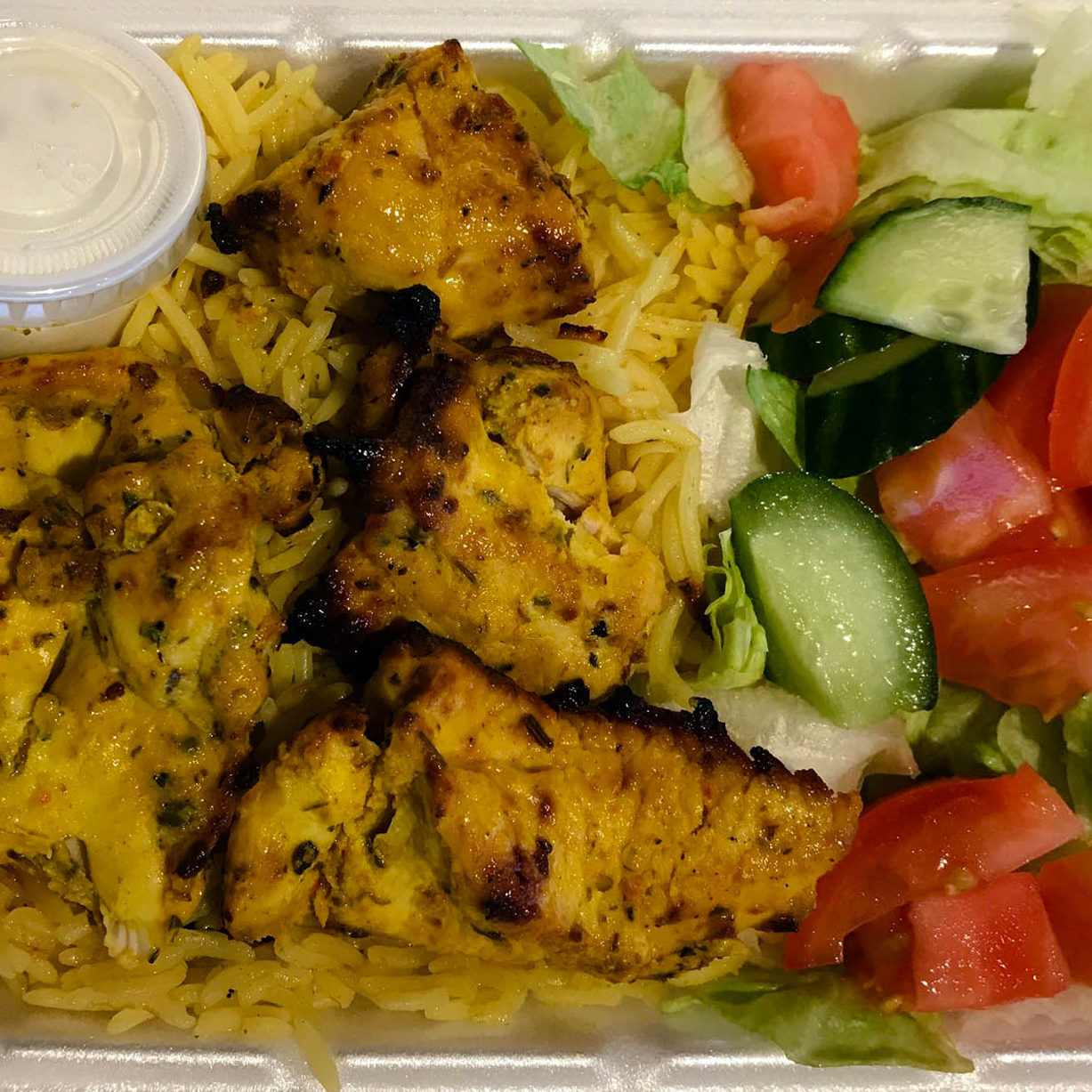 EPIC PITA CATERING CHICKEN RICE TO GO SALAD GRILLED BBQ TASTY